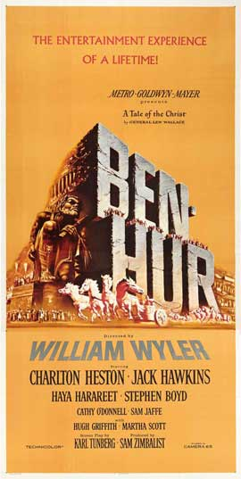 Ben-Hur - 20 x 40 Movie Poster - Style B
