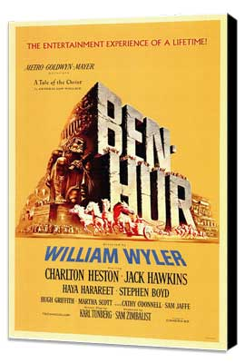 Ben-Hur - 11 x 17 Movie Poster - Style A - Museum Wrapped Canvas