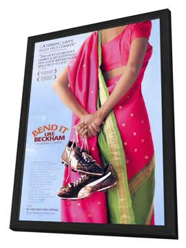 Bend It Like Beckham - 27 x 40 Movie Poster - Style A - in Deluxe Wood Frame