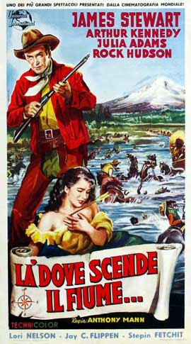 Bend of the River - 11 x 17 Movie Poster - Italian Style A