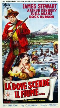Bend of the River - 27 x 40 Movie Poster - Italian Style A