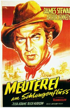 Bend of the River - 11 x 17 Movie Poster - German Style A