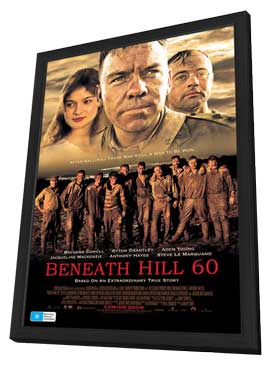 Beneath Hill 60 - 27 x 40 Movie Poster - Australian Style A - in Deluxe Wood Frame