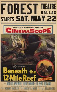Beneath the 12-Mile Reef - 11 x 17 Movie Poster - Style A