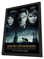 Beneath the Darkness - 11 x 17 Movie Poster - Style A - in Deluxe Wood Frame