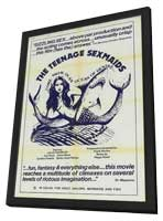 Beneath the Mermaids - 11 x 17 Movie Poster - Style A - in Deluxe Wood Frame
