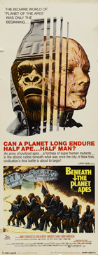 Beneath the Planet of the Apes - 14 x 36 Movie Poster - Insert Style A