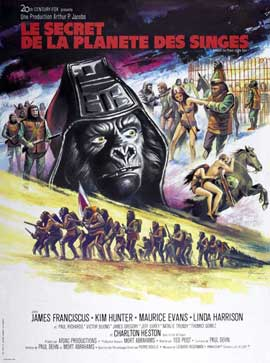 Beneath the Planet of the Apes - 27 x 40 Movie Poster - Style B