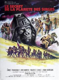 Beneath the Planet of the Apes - 27 x 40 Movie Poster - French Style A