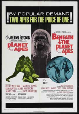 Beneath the Planet of the Apes - 11 x 17 Movie Poster - Style D