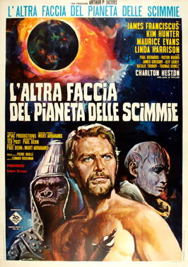 Beneath the Planet of the Apes - 27 x 40 Movie Poster - Italian Style B
