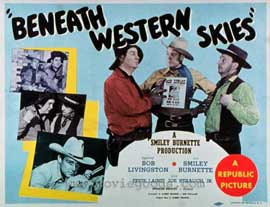 Beneath Western Skies - 11 x 14 Movie Poster - Style A