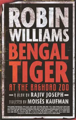 Bengal Tiger at the Baghdad Zoo (Broadway) - 11 x 17 Poster - Style A