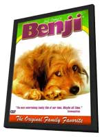 Benji - 11 x 17 Movie Poster - Style C - in Deluxe Wood Frame
