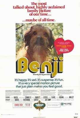 Benji - 11 x 17 Movie Poster - Style A