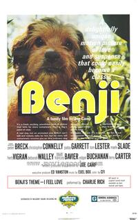 Benji - 27 x 40 Movie Poster - Style A