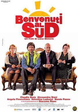 Benvenuti al Sud - 11 x 17 Movie Poster - Italian Style A