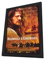 Beowulf & Grendel - 11 x 17 Movie Poster - Style A - in Deluxe Wood Frame