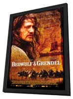 Beowulf & Grendel - 27 x 40 Movie Poster - Style A - in Deluxe Wood Frame