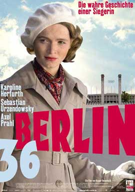 Berlin 36 - 11 x 17 Movie Poster - German Style A