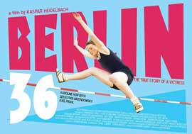 Berlin 36 - 11 x 17 Movie Poster - UK Style A