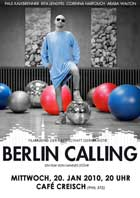 Berlin Calling - 11 x 17 Movie Poster - German Style A