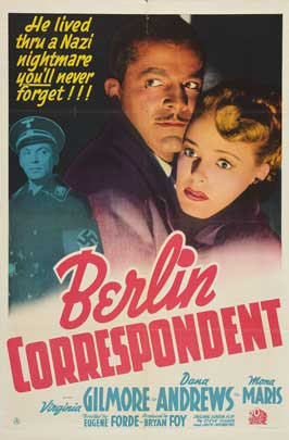 Berlin Correspondent - 11 x 17 Movie Poster - Style A