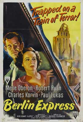 Berlin Express - 27 x 40 Movie Poster - Style A
