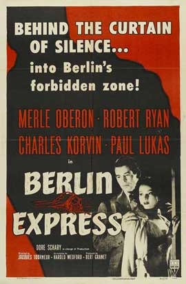 Berlin Express - 27 x 40 Movie Poster - Style B