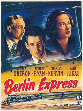 Berlin Express - 11 x 17 Movie Poster - Style C
