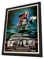 Bermuda Depths - 27 x 40 Movie Poster - Style A - in Deluxe Wood Frame