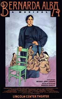 Bernard Alba A Musical (Broadway) - 11 x 17 Poster - Style A