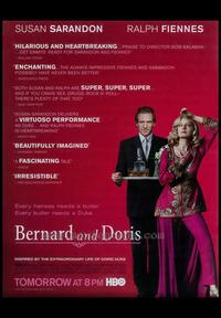 Bernard and Doris - 27 x 40 Movie Poster - Style A