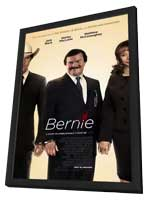 Bernie - 11 x 17 Movie Poster - Style A - in Deluxe Wood Frame