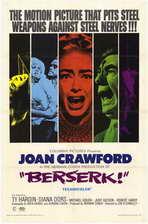 Berserk! - 27 x 40 Movie Poster - Style A
