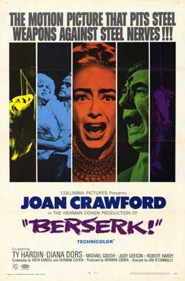 Berserk! - 11 x 17 Movie Poster - Style A