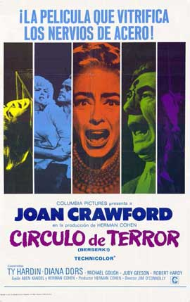 Berserk! - 11 x 17 Movie Poster - Spanish Style A