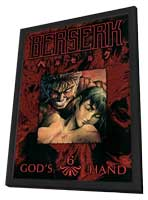 Berserk - 11 x 17 Movie Poster - Style B - in Deluxe Wood Frame