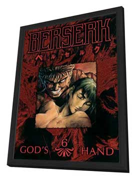 Berserk - 27 x 40 Movie Poster - Style B - in Deluxe Wood Frame