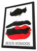 Besos Robados - 27 x 40 Movie Poster - Foreign - Style A - in Deluxe Wood Frame