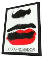 Besos Robados - 11 x 17 Poster - Foreign - Style A - in Deluxe Wood Frame
