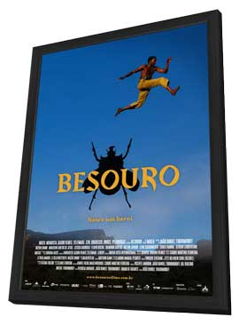 Besouro - 11 x 17 Movie Poster - Brazilian Style A - in Deluxe Wood Frame