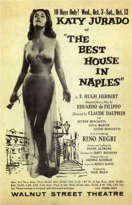 Best House in Naples, The (Broadway) - 11 x 17 Poster - Style A