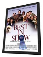 Best in Show - 27 x 40 Movie Poster - Style A - in Deluxe Wood Frame