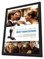 Best Man Down - 11 x 17 Movie Poster - Style A - in Deluxe Wood Frame