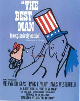 Best Man, The (Broadway) - 14 x 22 Poster - Style A