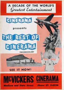 Best of Cinerama - 27 x 40 Movie Poster - Style A