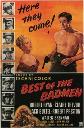 Best of the Badmen - 11 x 17 Movie Poster - Style A
