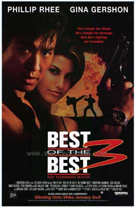 Best of the Best 3: No Turning Back - 11 x 17 Movie Poster - Style A