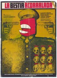 Bestia acorralada, La - 11 x 17 Movie Poster - Spanish Style A